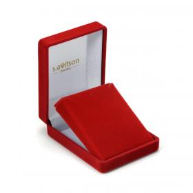 Halskette mit Anhänger Tropfen Silber vergoldet (1)
